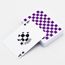 PURPLE CHECKERBOARD BY ANYONE