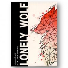 LONELY WOLF PINK by BOCOPO