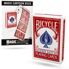 BICYCLE ORIGINAL MAGIC CARTOON DECK
