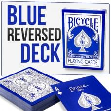 BICYCLE REVERSED BACK BLUE