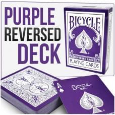 BICYCLE REVERSED BACK PURPLE