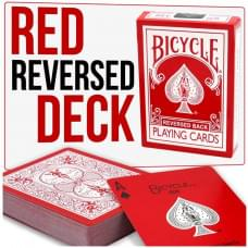BICYCLE REVERSED BACK RED