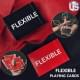 FLEXIBLE BLACK/RED