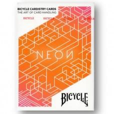 BICYCLE NEON ORANGE BUMP