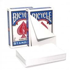 BICYCLE DOUBLE BLANK